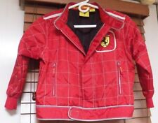 Women's Small Red Ferrari Jacket Size 9/11 by Nice Man Sports