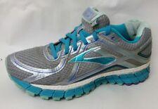 Brooks Adrenaline GTS 16 Running Cross Train Shoe Sneaker Womens 7 M Silver Blue