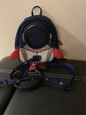 YISIBO Astronaut Rocket Toddler Backpack w/Harness Leash Kids Baby 1-3 Years Old