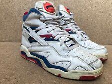 Vintage Reebok Basketball Pump White Shoes Rare Hexalite Sz US 8 | UK 7.5