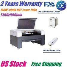 EFR 130W 160W 1390 CO2 Laser Engraving Cutting Machine Wood Engraver 1300x900mm