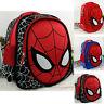 Marvel Spiderman Backpack 3D# Spider-Man Rucksack and Kids School Lunch KidBags@