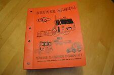 CCC Crane Carrier Truck ST2-302A000 Ser 45443 45444 Service Repair Shop Manual