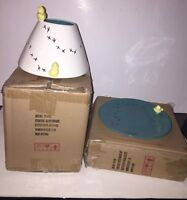 """YANKEE CANDLE """"EASTER CHICK"""" Ceramic Jar Candle Shade & Plate Set NEW Box VHTF"""
