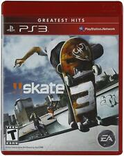 Skate 3 [PlayStation 3, Greatest Hits, EA] New