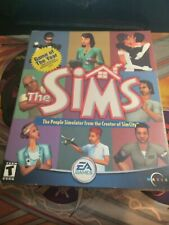 The Sims - The People Simulator Big Box PC - Maxis - 2000 Complete