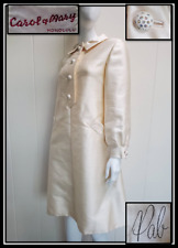 Vintage 60s Couture Raw Silk Trapeze dress by Pab Carol & Mary's Honolulu