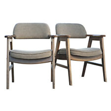 (2) Mid Century Modern Seba Scandinavian Arm Chairs (MR12295)