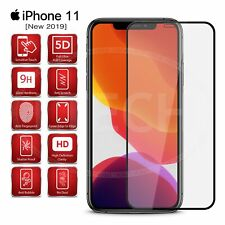 "For Apple iPhone XI Pro (2019) 5.8"" - Full Glue Glass Screen Protector [Black]"