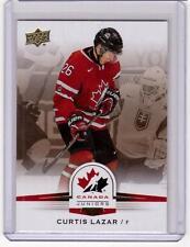 CURTIS LAZAR 14/15 Upper Deck Team Canada Juniors #111 Gold Sepia Rookie SP