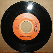 LITTLE JUNIOR PARKER **Man Or Mouse** WAIT FOR ANOTHER DAY Blues 45 on DUKE 413