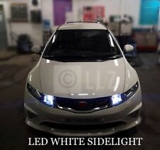 HONDA CIVIC MK8 FN2 XENON WHITE LED SIDELIGHT BULBS UPGRADE ERROR FREE Type R