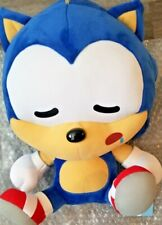 Great Eastern Sleeping Sitting Sonic Plush 12inch Stuffed SEGA Toy Big