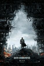 Star Trek Into Darkness 27x40 Original Theater Double Sided Movie Poster 2013