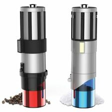 Star Wars Lightsaber High Quality Kitchen Table Salt and Pepper Shakers Grinders