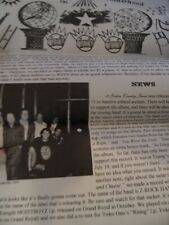 Ween Newsletter Vintage Old Stock 1996 First Issue