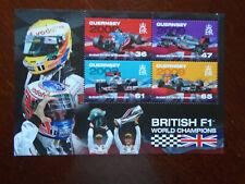 Guernsey MNH 2011 F1 Champions m/s