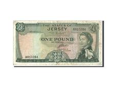 Billets, Jersey, 1 Pound, 1963, KM:8b #48267