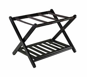 Winsome 92436 Luggage Rack with Shelf Pack of 1
