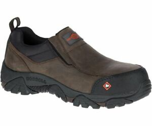 Merrell Safety Men's J45327 Moab Rover Moc EH Composite Toe Work Shoes