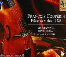 Couperin: Pieces De Violes 1728 / Savall, Koopman, Maurette - SACD