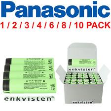 Panasonic NCR18650B Akku - 3400mAh 3.7V Zelle - Menge 1/2/3/4/6/10 Stück Li-Ion