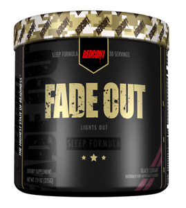 SALE!! Redcon1 Fade Out Sleep Formula Recovery 30 SRV CHOOSE FLAVOR
