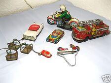 Lot ancien jouet en tôle pièces/bricoleur poste/jouet en tôle pièces