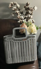 Picnic/ Easter Basket. Gray ( Available In Other Colors, See Pics For Details)