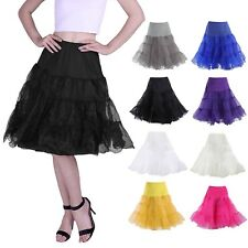 775c328c95abd 50 s Vintage Rockabilly Petticoat Swing Dress Underskirt A-Line Tutu Slip  Skirt