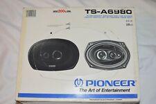 Pioneer TS-A6980 Vintage 6x9 4-WAY Car Speakers