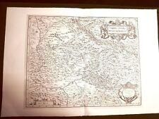 Ducato di Spoleto G.Antonio Magini o Maginus Atlante d'Italia 1620 Ristampa