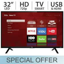"TCL 32"" Inch HD 720P Smart LED LCD HDTV 60hz TV w/ USB & HDMI - 32S301"