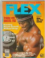 FLEX Bodybuilding Fitness Muscle Magazine BERTIL FOX 5-84  Vol 2 #2