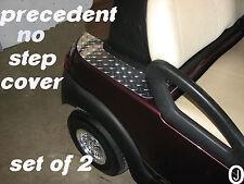 Club Car PRECEDENT golf cart Highly Polished Diamond plate  No Step Covers