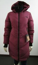 NWT Womens The North Face TNF Albroz Parkina Down Parka Warm Winter Jacket Red
