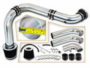 """3"""" BLACK Cold Air Intake Racing System+Filter For 02-10 Ram 1500 3.7L V6/4.7L V8"""