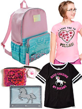 Justice Girls Back to School Bundle, Backpack - Clothes
