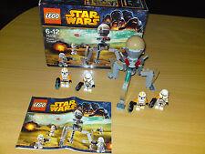 LEGO STAR WARS KIT 75036 COMPLETO CON ISTRUZIONI, SCATOLA ORIGINALE E PERSONAGGI