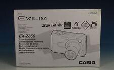 Casio EXILIM EX-Z850 Bedienungsanleitung manual GER FR ENG - (90282)
