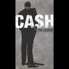 The Legend [Columbia] [Box] by Johnny Cash (CD, Aug-2005, 4 Discs, Columbia/Lega