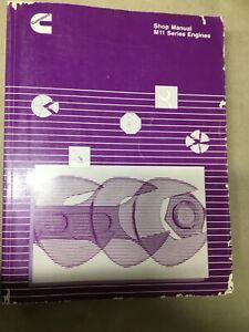 Cummins Engine M11 Series Shop Manual 1994 Diesel, Industrial