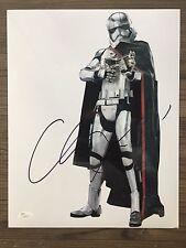 GWENDOLINE CHRISTIE (Capt Phasma ~ Star Wars) signed 11x14 photo ~ JSA/COA