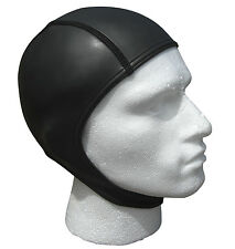 Open water swim swimming cap.WARM 2mm smoothskin ultra flex neoprene.Covers ears