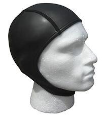 Open water swim swimming cap.WARM 2mm smoothskin ultra flex neoprene.Covers ears
