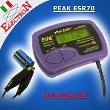 PEAK ESR70- Capacimetro +ESR Milliohmmetro, Tester Capacitor Analyser Multimetro