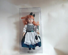 CHRISTMAS 7''INCH CERAMIC DOLL COUNTRY OF IRELAND ORNAMENT-NEW -BOXED ( 1 ONLY)