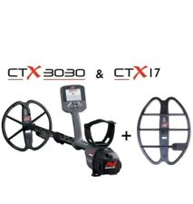 "Minelab CTX 3030 Metal Detector comes with free  17"" smart coil and pinpointer"
