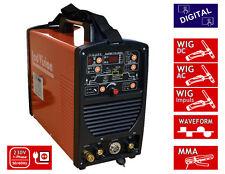 Digital Schweißgerät Mini TIG-200 AC/DC WIG TIG Puls Waveform + E-Hand MMA 200A