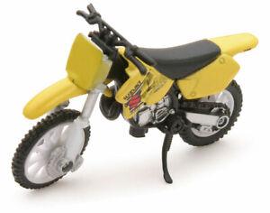 New-Ray Suzuki RM125 dirt bike 1:32 diecast model toy